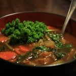 Vegan Vegetable Soup with Kale