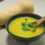 Vegan Butternut Squash Soup in Five Steps :D