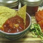 Homemade Salsa: cheap, easy, and vegan.